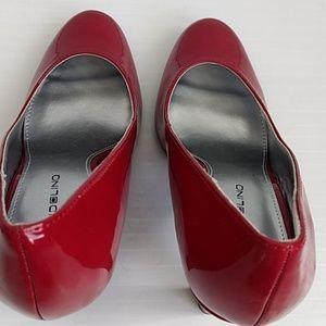 Bandolino Shoes - Red Heels Like New Size 8.5 - Bandolino BD70BELIX
